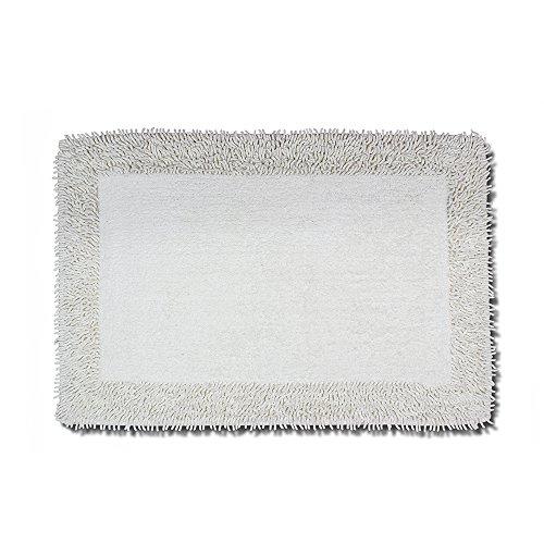 Luxor Linens - Plush 100% Cotton Super Soft Chenille Tufted Bath Mat, 20 x 30 inches, 1 PC, (Tufted Rug Floor Mat)
