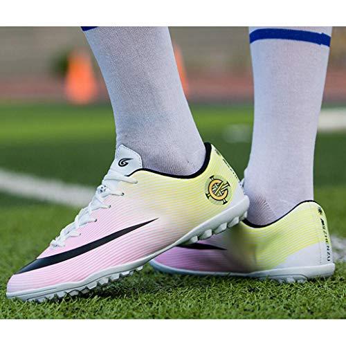 Zxcvb Little Scarpe Big calcio Multicolore Kid Shock da Tacchetti Tacchetti Kid da da calcio esterno Buffer rHRtrxwP