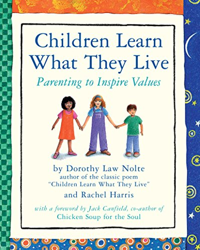 Children Learn What They Live: Parenting to Inspire (Gods Children Poster)