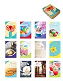 Designer Greetings Foiled Embossed Greeting Cards for All Occasions, Assorted (658-00118-000)