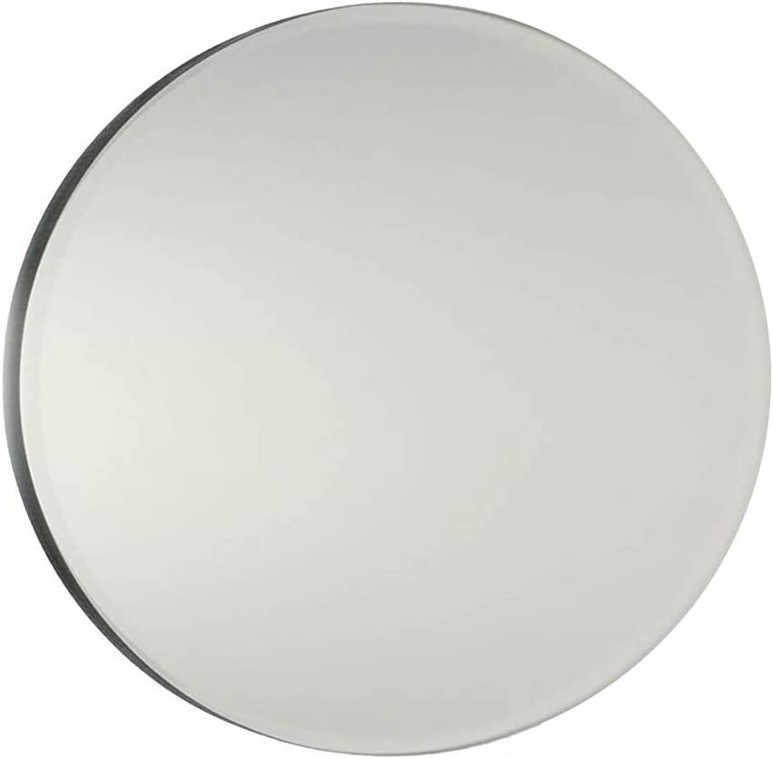 Decoration Round 4 Inch Glass Mirror Tiles Circles for DIY Arts /& Crafts Projects Traveling 50 Pack Mosaic Framing