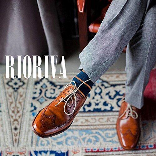 funky Fantasia Colorato Rioriva Calzini Grande A 10 Vitello Scarpa Bsk38 Altezza Pack Argyle Righe Uomini Divertente xYwd0qwz
