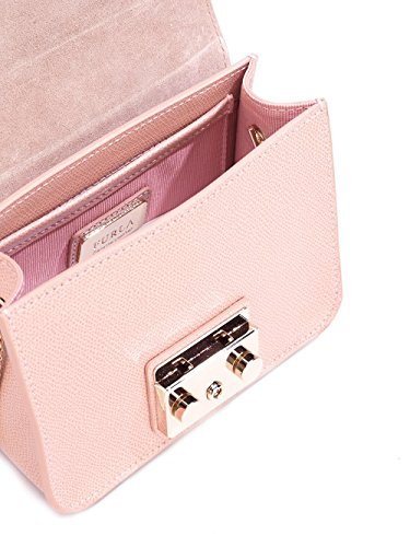 FURLA FEMME 8511736M0 ROSE CUIR SAC PORTÉ ÉPAULE