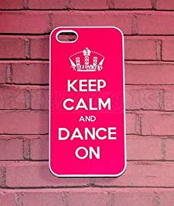 iPhone 5c case, Keep Calm and Dance On iPhone 5c Cover, iPhone 5c Cases, iPhone 5c Case, Cute iPhone 5c Case