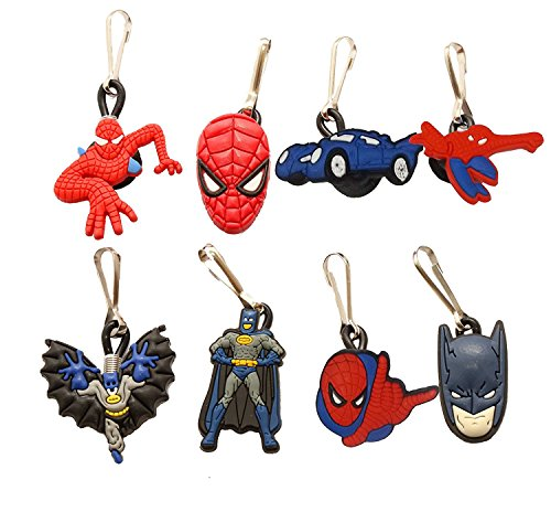 [AVIRGO 8 pcs Zipper Pull Charms for Jacket Backpack Bag Pendant Set # 17-2] (Firefly Kids Costumes)