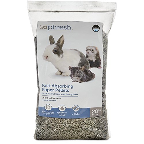 - So Phresh Paper Pellet Small Animal Litter, 20 lbs.