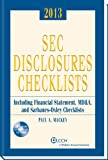 SEC Disclosures Checklists (2013 Edition) W/ CD-ROM, Mackey, Paul, 080803345X