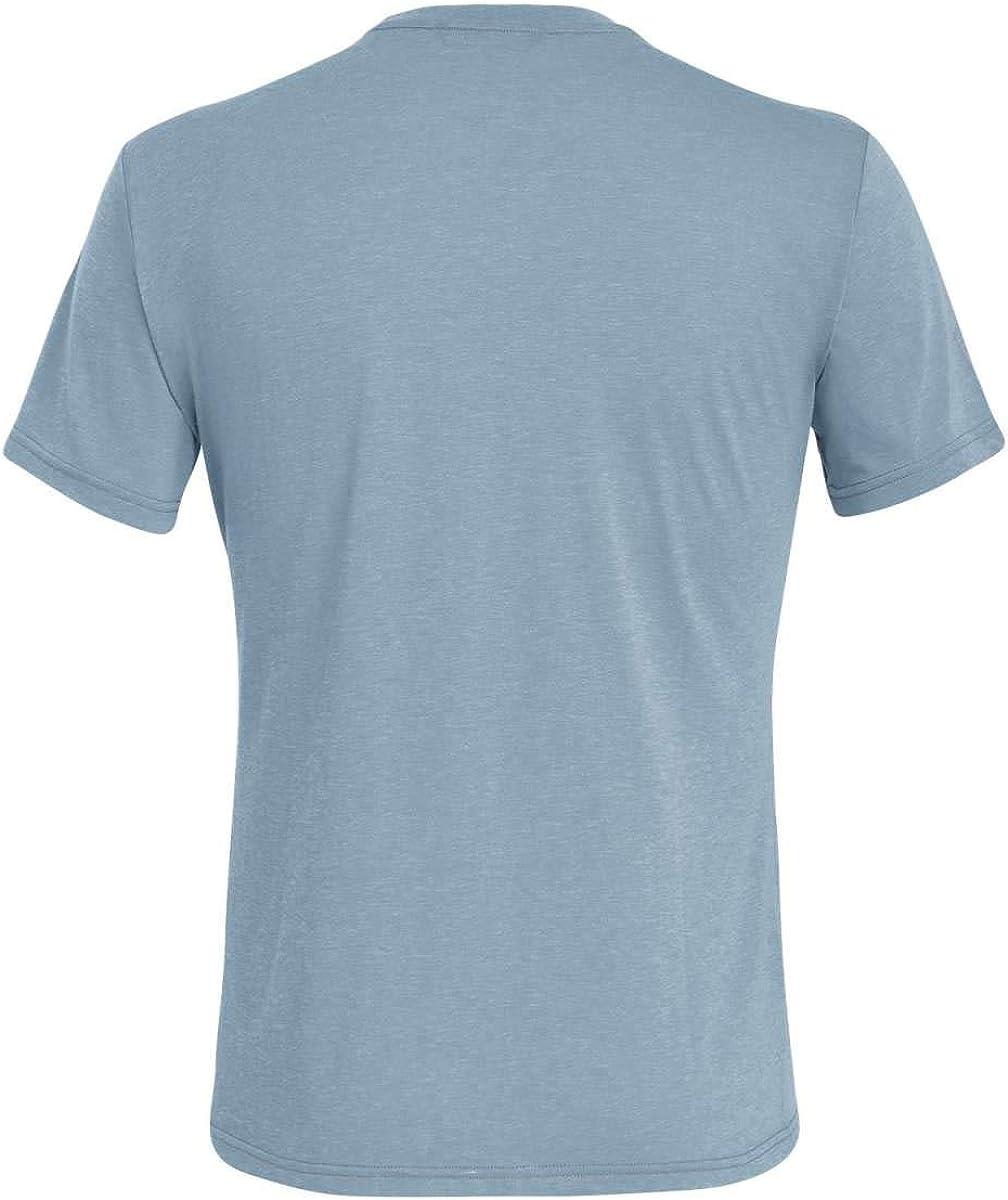 Camiseta Hombre SALEWA Small Box Dri-rel M S//S tee