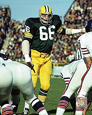Green Bay Packers Hall Of Fame Linebacker Ray Nitschke In Action! 8x10 Photo, Picture.