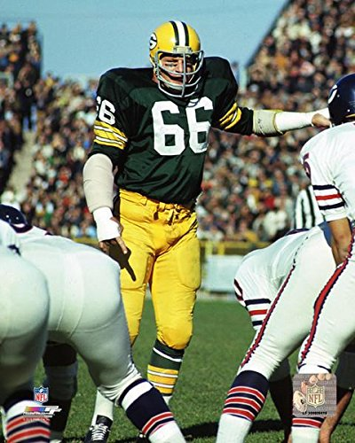 (Green Bay Packers Hall Of Fame Linebacker Ray Nitschke In Action! 8x10 Photo, Picture.)