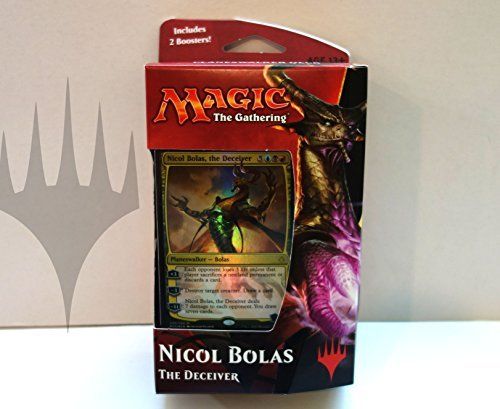 NA Magic The Gathering: Hour of Devastation Planeswalker Deck - Nicol Bolas (Best Premade Commander Deck)