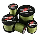 Times Spectra Extreme Braid Braided Fishing Line 30LB Test 100m Army Green