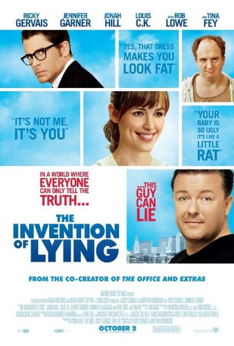 Invention of Lying Movie Poster Double Sided Original