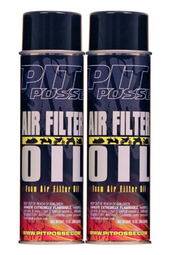 pit-posse-pp3237-2-2-13-oz-cans-of-foam-air-filter-oil-motorcycle-atv-dirt-bike-made-in-usa