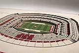 "YouTheFan NCAA 5-Layer 17"" x 13"" StadiumViews 3D"