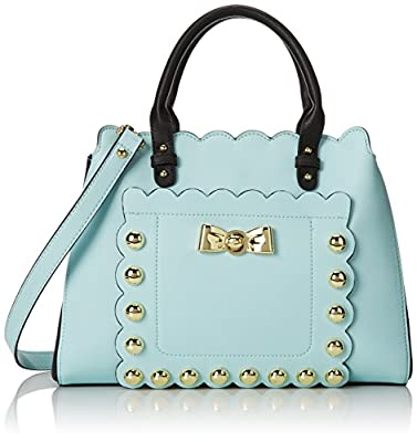 Betsey Johnson Studded Afair Satchel