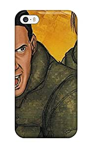 Premium The Last Zombie Back Cover Snap On Case For Iphone 5/5s