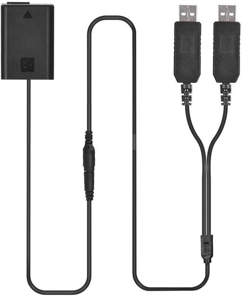 Qumox Np Fw50 Dummy Akku Batterie Dc Power Bank Usb Elektronik