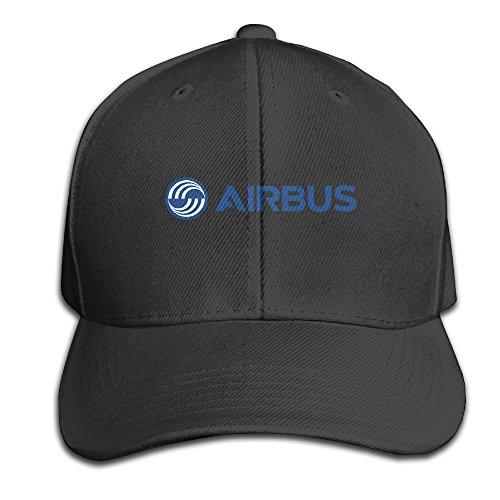 bacadi-unisex-airbus-logo-blue-adjustable-peaked-baseball-caps-hats-duck-tongue-hat