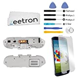 Zeetron Galaxy S4 I337 Premium Bottom Speaker Replacement Buzzer Loud Speaker Flex Kit (AT&T Only) by Zeetron