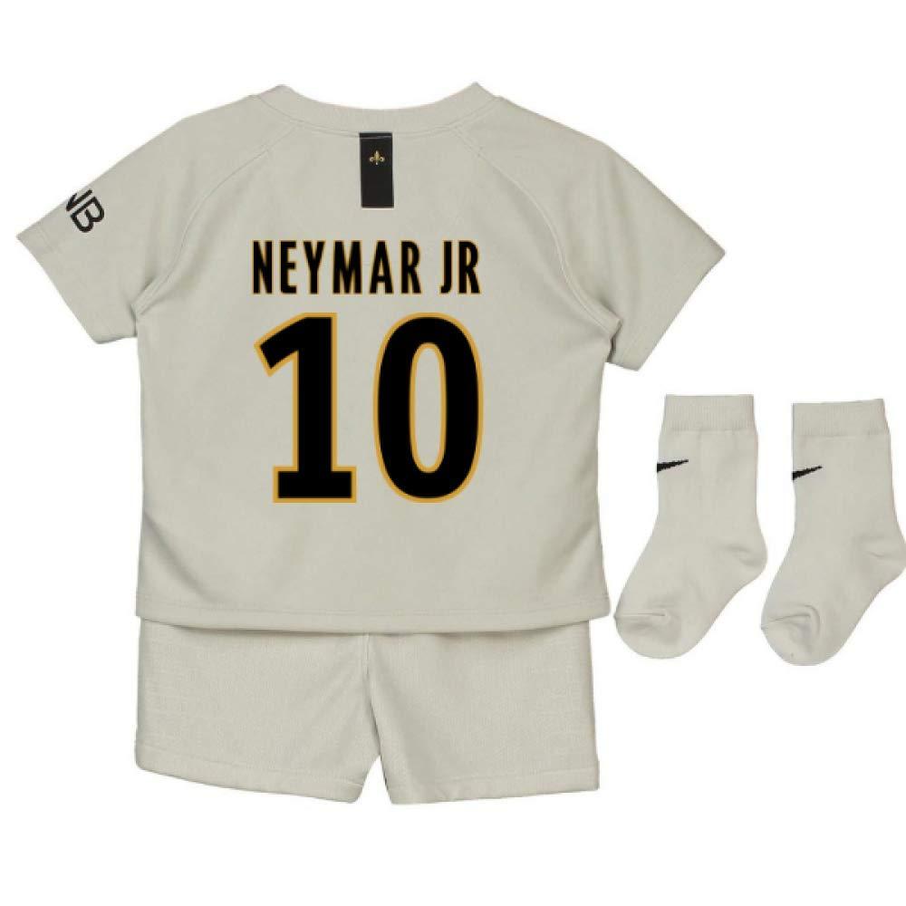 UKSoccershop 2018-19 PSG Away Baby Kit (Neymar Jr 10)