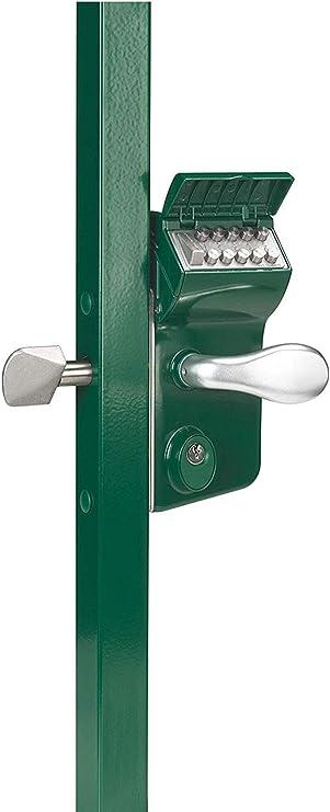 Locinox LEONARDO LLKZ V2 - Cerradura mecánica para puerta corredera, Verde: Amazon.es: Bricolaje y herramientas