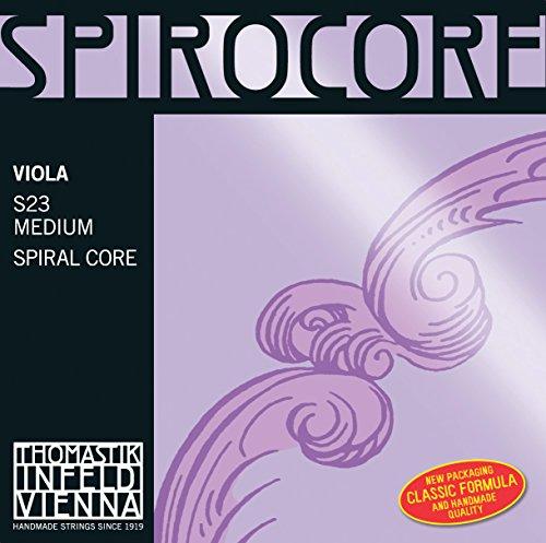 Thomastik-Infeld S19 Spirocore Viola Strings, Single D String, 4/4 Size, Steel Core Chrome Wound by Thomastik-Infeld