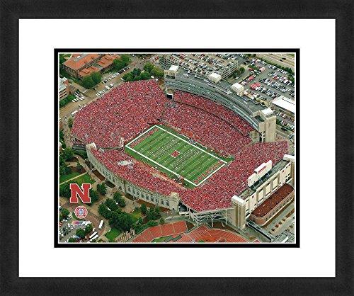 "Cornhuskers Nebraska Framed (NCAA Nebraska Cornhuskers Stadium, Beautifully Framed and Double Matted, 18"" x 22"" Sports Photograph)"