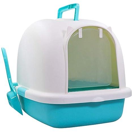 SuyunPP Frente Box Caja De Arena Inodoro para Gatos Orinal para Gatos Desodorante Artículos para Mascotas