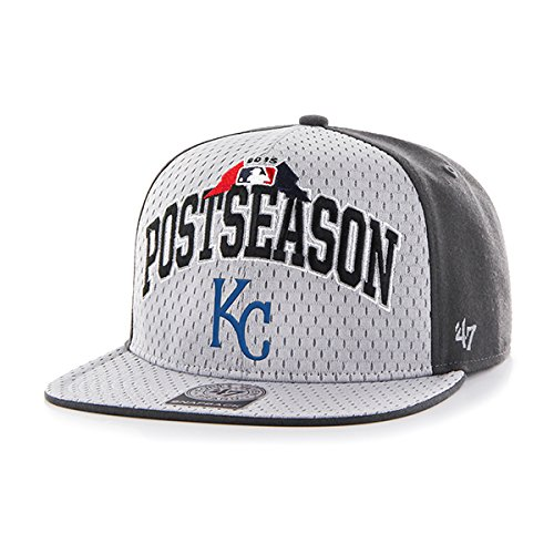 Kansas City Royals 2015 Postseason Playoffs Official On Field Hat Cap