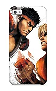 For Benailey Iphone Protective Case, High Quality For Iphone 5c Street Fighter Skin Case Cover