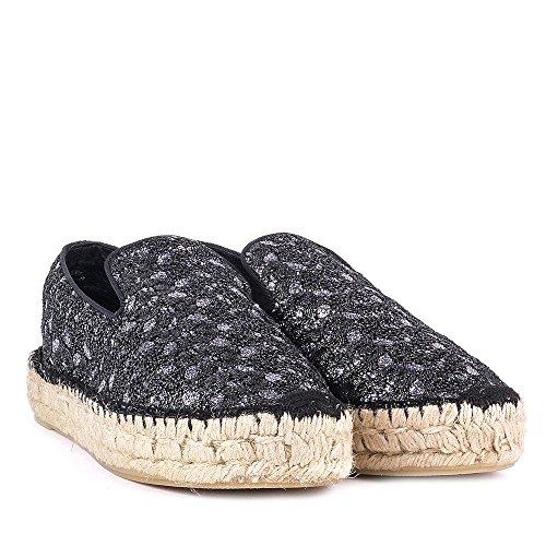 Bleu Noir Ash Chaussures Espadrilles et Xem Femme wqWp61Ax
