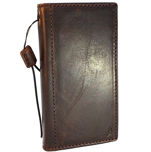 Genuine real Leather Case for Samsung Galaxy S9 Book Wallet Luxury Cover S Handmade Retro Id cards slots s 9 slim holder daviscase