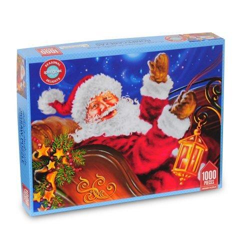(Santa's Sleigh Ride 1,000 Pc. Jigsaw Puzzle)