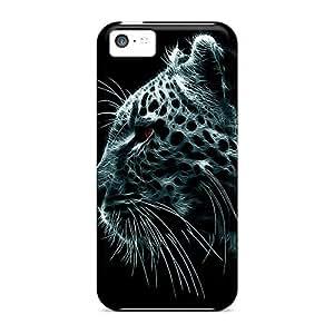 Premium Durable Tiger Fashion Tpu Iphone 5c Protective Case Cover