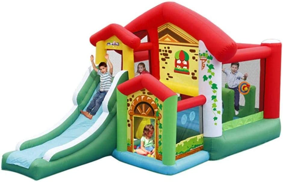 FLY FLU Castillo Hinchable Infantil,Castillo Inflable para Niños ...
