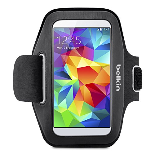 - Belkin Sport-Fit Armband for Samsung Galaxy S5 / S4 / S4 Active / S3 (Black)