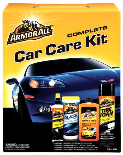 Kit Tire Care (Armor All Complete Car Care Kit (1 count) (4 Items Included))