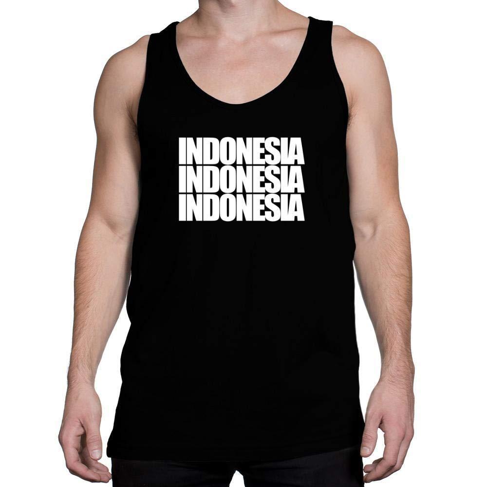 Idakoos Indonesia Three Words Tank Top