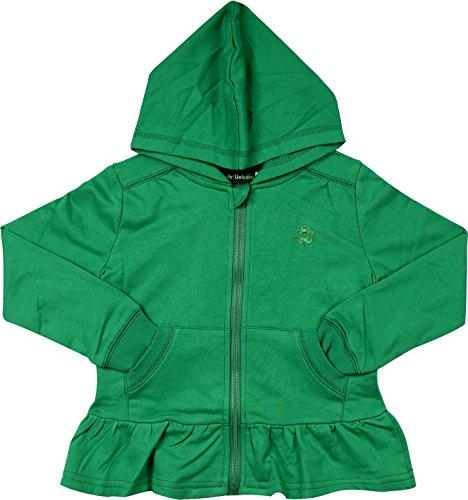 Zip Front Girls Sweatshirt - 6