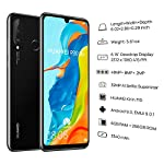 HUAWEI-P30-Lite-256-GB-615-Inch-FHD-Dewdrop-Display-Smartphone-with-MP-AI-Ultra-wide-Triple-Camera-6-GB-RAM-Android-90-Sim-Free-Mobile-Phone-UK-Version-Black