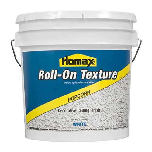 - Roll On Ceiling Texture White, 2 gal, Popcorn Decorative Finish