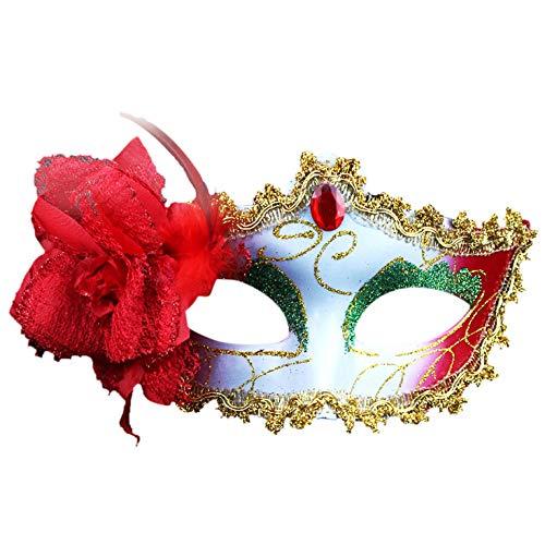 Luxury Mask Womens Lace Masquerade Mask,Sexy Elegant Eye Face Mask Empress Mask Masquerade Ball Carnival Fancy Party -