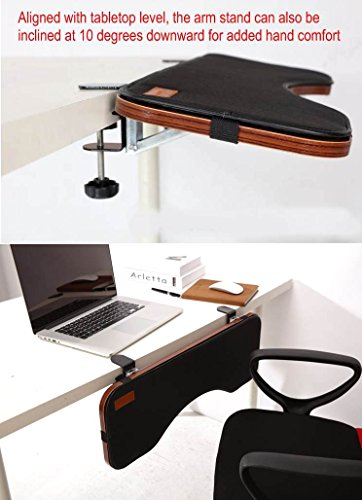 Ergoneer Ergonomic Keyboard Wrist Rest Desk Extender For
