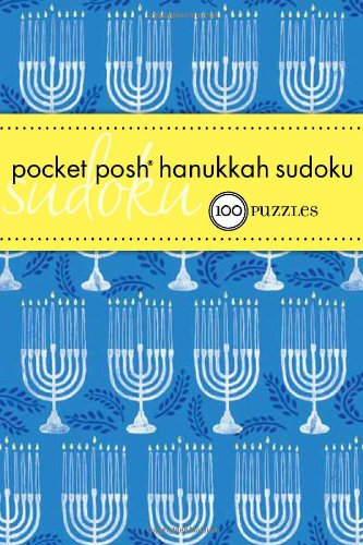 Pocket Posh Hanukkah Sudoku