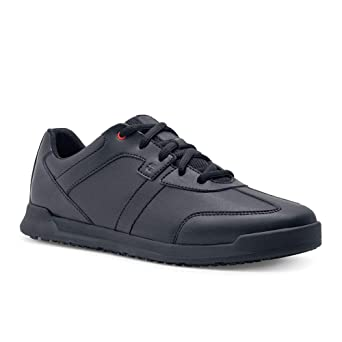 9384885f146dd Shoes For Crews Freestyle Men's Black Slip Resistant Trainers, Style 38140  - EN safety certified