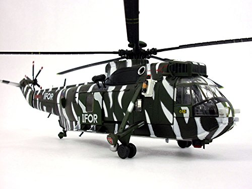 Scale Model Helicopter (Westland WS-61 Sea King (Sikorsky SH-3) - 1/72 Scale Diecast Helicopter Model)