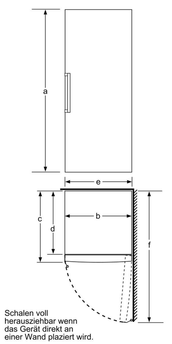 Bosch GSN29AW30 - Congelador (Vertical, Independiente, Color ...