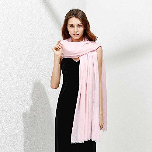 JULY SHEEP Pure 100% lamb wool Ultra Thin Scarf Womens Soft Long Scarves Shawl Wraps by JULY SHEEP (Image #4)