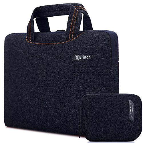 Brinch Fabric Portable Waterproof Anti-tear Laptop Pouch for